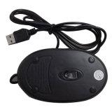 Souris optique d'ordinateur de molette de défilement de souris de câble par DEL d'USB mini