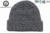 卸し売り安いアクリルのカスタムジャカードによって編まれる暖かい冬の帽子