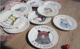 De Goedkope Plaat van uitstekende kwaliteit van het Diner van het Porselein van China van het Been 10 Duim