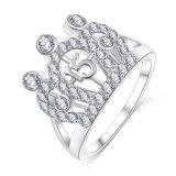 Ringen van de Kroon van de Diamant van CZ de Loyale voor Vrouwen (CRI01004)
