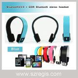 Cuffia senza fili stereo della cuffia avricolare di Bluetooth V3.0 di musica per il telefono mobile