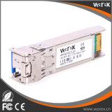 SFP-10G-BX-U-20 kompatibler 10G SFP+ BIDI Lautsprecherempfänger-Baugruppe Tx 1270nm Rx1330nm 20km Simplexbetrieb LC