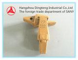 Sanyの掘削機Sy60/65/75/95のための掘削機のバケツの歯のホールダー20X-70-14151 No. A820499340000