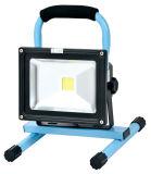 luz de inundação recarregável do diodo emissor de luz 10W