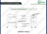 Capot de vapeur des bons prix matériel/de compartiment/laboratoire de vapeur chimiques