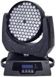 108 luz movente do diodo emissor de luz da cabeça do diodo emissor de luz da lavagem do PCS 3W
