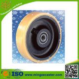 Qualitäts-industrielle Polyurethan-Fußrollen-Räder
