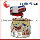 Il prezzo basso di promozione di Zhongshan del gioco del calcio di colore completo mette in mostra le medaglie