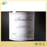 Vino etiqueta de encargo, etiqueta autoadhesiva Impresión con papel o plástico (CKT- LA-332)