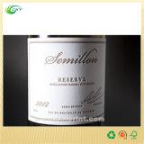 Escritura de la etiqueta de encargo del vino, impresión de la etiqueta autoadhesiva con el material de papel o plástico (circuito LA-332)
