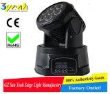 7 het LEIDENE van PCs Zachte Lichte Bewegen zich Hoofd lichte RGBW (sy-6807)