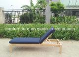 Salotto di vimini di vendita caldo del Chaise della mobilia del patio di 2015 Foshan