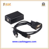 Cajón del efectivo de la posición para la caja registradora/el rectángulo QQ-420 del efectivo