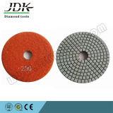 пусковая площадка диаманта песчинки 800 80mm гибкая полируя для камня