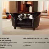 2016 produtos de couro luxuosos do animal de estimação do Sofa/do cão do projeto novo