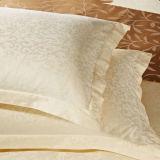 Federa bianca dell'hotel del jacquard del cotone (DPFB80140)