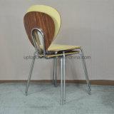 Bar de empilhamento por atacado moderno da madeira compensada que janta a cadeira (sp-bc489)