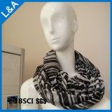 Signora Fashion Striped Infinity Scarf