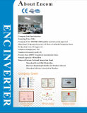 Инвертор En500 частоты вектора Sensorless скорости для трехфазного мотора AC