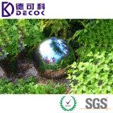 "Bille en acier 12 de jardin décoratif "" regardant la bille AISI304 creuse"