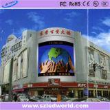 Im Freien/Innenlichtbogen-farbenreicher hohe Helligkeit gebogener LED-Bildschirm für das Bekanntmachen (Video P6, P8, P10, P16)