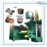 Imprensa de ladrilhagem de alumínio do pó do cobre da sucata
