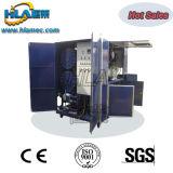 Sistema dieléctrico da purificação de óleo do vácuo móvel do reboque