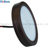 Round ultrasottile LED Cabinet e Showcase Jewelry Light