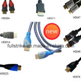 HDMI Cable Support 4k*2k 1080P、3D、Ethernet 1.4V
