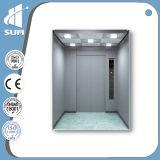 304 elevador del pasajero de la velocidad 1.75m/S del acero inoxidable