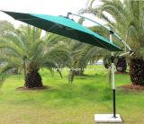 Banana ao ar livre do restaurante que pendura o guarda-chuva luxuoso do pátio da propaganda