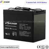 Leitungskabel der Qualitäts-12V90ah saure AGM-Batterie-tiefe Schleife-Batterie