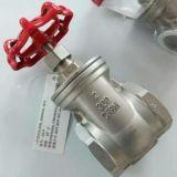 Válvula de porta do aço inoxidável de CF8/CF8m Pn16 200wog Bsp/NPT