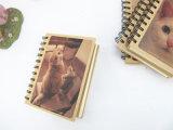 Carnets de notes à spirale d'impression d'emballage de livre À couverture dure fait sur commande de papier
