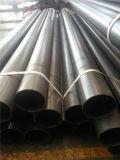 Tubo d'acciaio verniciato di programma 40 neri con l'estremità smussata