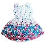 Платье цветка способа в одежде платья детей с Apprael Sqd-149