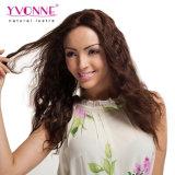 Encaje de moda de la onda del cuerpo del cabello humano peluca delantera