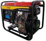 Ouvrir le type groupe électrogène diesel refroidi à l'air portatif