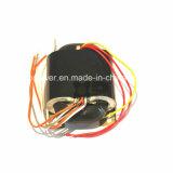Transformateur monophasé de type R, faible fuite magnétique et haute efficacité (XP-R100-120)