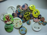 Promotional Giftのための最も新しいRound Plastic Badge