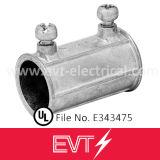 Type électrique ajustage de précision de compactage de couplage de zinc d'UL de pipe