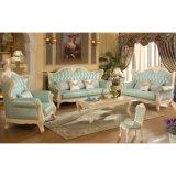 Деревянная софа ткани для живущий мебели комнаты (510A)