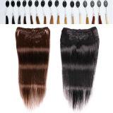 """pelo humano de 22 """" extensiones de /70g Clipin para el afroamericano"""