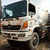 6*4-Six-Cylinders Hino Concrete Mixer Truck com-Rustless-Frame para Cambodia Market