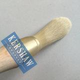 Cepillo redondo (brocha con la manija afilada de madera del filamento y de haya, el cepillo inclinar-redondo)