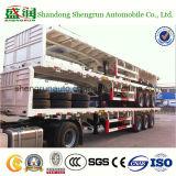 40 Semi Aanhangwagen van het Bed van de Container van de voet Flatbed Vlakke