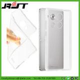 Cubierta suave transparente de la caja del claro TPU para Huawei Mate8