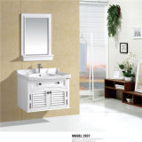 PVC White Bathroom Vanity di alta qualità con Mirror