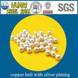 Diameter 4mm de Ballen van het Koper C1100 met Zilveren Plateren