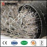 PPE White Artificial Grass Yarn da alta qualidade para o jardim Withoud Sand
